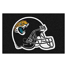 """Officially Licensed NFL 19"""" x 30"""" Helmet Logo Starter Mat - Jaguars"""