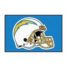 "Officially Licensed NFL 19"" x 30"" Helmet Logo Starter Mat - Chargers"