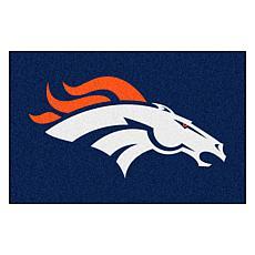 "Officially Licensed NFL 19"" x 30"" Logo Starter Mat - Denver Broncos"