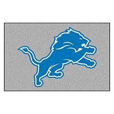 """Officially Licensed NFL 19"""" x 30"""" Logo Starter Mat - Detroit Lions"""