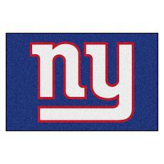 """Officially Licensed NFL 19"""" x 30"""" Logo Starter Mat - New York Giants"""