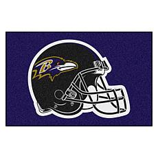 "Officially Licensed NFL 19"" x 30"" Rug - Baltimore Ravens"