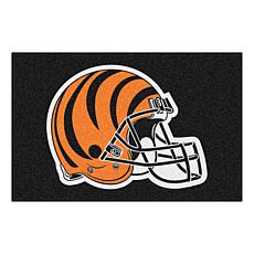 "Officially Licensed NFL 19"" x 30"" Rug - Cincinnati Bengals"