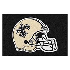 """Officially Licensed NFL 19"""" x 30"""" Rug - New Orleans Saints"""