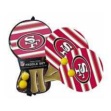 Officially Licensed NFL 2-pack Beach Paddle - San Francisco 49ers