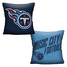 """Officially Licensed NFL 20"""" Invert Pillow - Titans"""