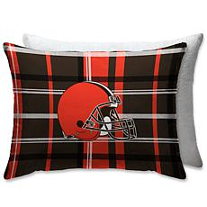"""Officially Licensed NFL 20"""" x 26"""" Bed Pillow - Cleveland Browns"""