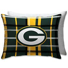 """Officially Licensed NFL 20"""" x 26"""" Plush Bed Pillow - Green Bay Packers"""