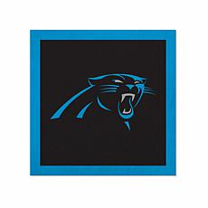 """Officially Licensed NFL 23"""" Felt Wall Banner - Carolina Panthers"""