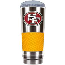 Officially Licensed NFL 24 oz. Stainless Steel/Yellow D