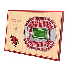 Officially-Licensed NFL 3-D StadiumViews Display - Arizona Cardinals