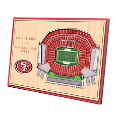 Officially-Licensed NFL 3-D StadiumViews Display - San Francisco 49...