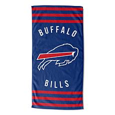 "Officially Licensed NFL 30"" x 60"" Stripes Beach Towel - Bills"