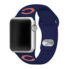 Officially Licensed NFL 38/40mm Apple Watch Band - Chicago Bears