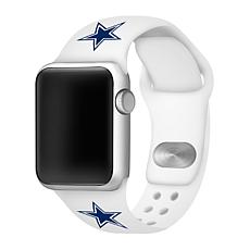 Officially Licensed NFL 38/40mm White Apple Watch Band- Dallas Cowb...