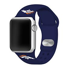 Officially Licensed NFL 38mm/40mm Apple Watch Sport Band - Broncos