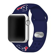 Officially Licensed NFL 38mm/40mm Apple Watch Sport Band - Texans