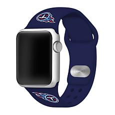 Officially Licensed NFL 38mm/40mm Apple Watch Sport Band - Titans