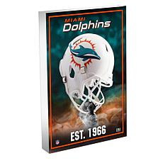 Officially Licensed NFL 3D Acrylic Mini Helmet Block Art