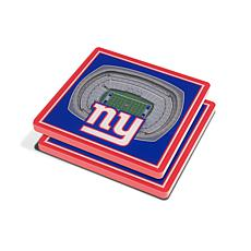 1882515a0 Officially Licensed NFL 3D StadiumViews Coasters - New York Giants