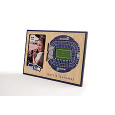 Officially Licensed NFL 3D StadiumViews Frame - Seattle Seahawks