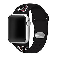 Officially Licensed NFL 42/44mm Apple Watch Band - Atlanta Falcons