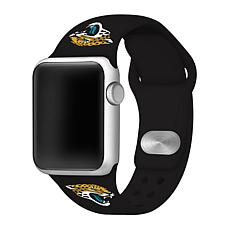Officially Licensed NFL 42/44mm Apple Watch Band- Jacksonville Jagu...