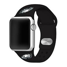 Officially Licensed NFL 42/44mm Apple Watch Sport Band - Phil. Eagles