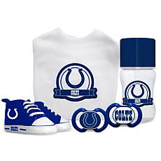 Officially Licensed NFL 5-piece Baby Gift Set - Indianapolis Colts