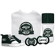 Officially Licensed NFL 5-piece Baby Gift Set - New York Jets