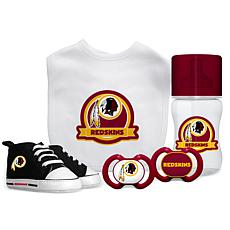 Officially Licensed NFL 5-piece Baby Gift Set - Washington Redskins