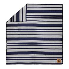 Officially Licensed NFL Acrylic Stripe Throw Blanket - Chicago Bears