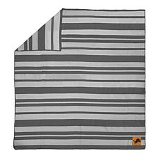 Officially Licensed NFL Acrylic Stripe Throw Blanket - Detroit Lions
