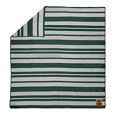 Officially Licensed NFL Acrylic Stripe Throw Blanket - Packers
