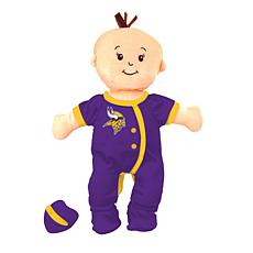 Officially Licensed NFL Baby Fanatic Wee Baby Doll - Minnesota Vikings