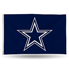 Officially Licensed NFL Banner Flag - Cowboys