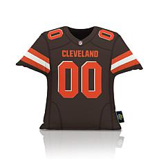 Officially Licensed NFL Big League Jersey Pillow - Cleveland Browns