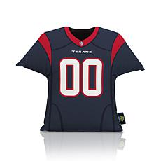 Officially Licensed NFL Big League Jersey Pillow - Houston Texans