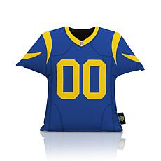 Officially Licensed NFL Big League Jersey Pillow - Los Angeles Rams