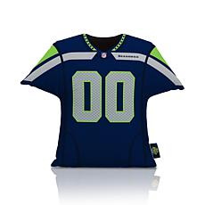 Officially Licensed NFL Big League Jersey Pillow - Seattle Seahawks
