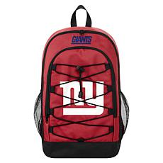 Officially Licensed NFL Bungee Backpack - New York Giants