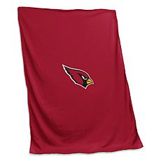 Officially Licensed NFL by Logo Chair Sweatshirt Blanket - Cardinals