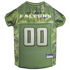 Officially Licensed NFL Camo Pet Jersy - Atlanta Falcons