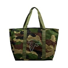 Officially Licensed NFL Camo Tote - Falcons