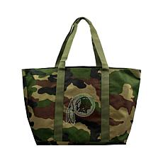 Officially Licensed NFL Camo Tote - Redskins