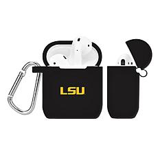 Officially Licensed NFL Case for AirPod Case - LSU Tigers - Black