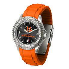 Officially Licensed NFL Cincinnati Bengals Sparkle Series Watch