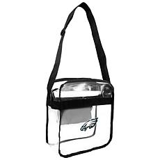 Officially Licensed NFL Clear Carryall Crossbody - Eagles