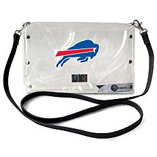 Officially Licensed NFL Clear Envelope Purse - Bills