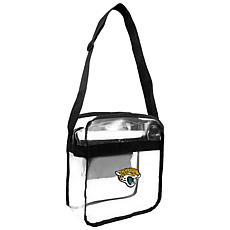 Officially Licensed NFL Clear Gameday Tote - Jacksonville Jaguars